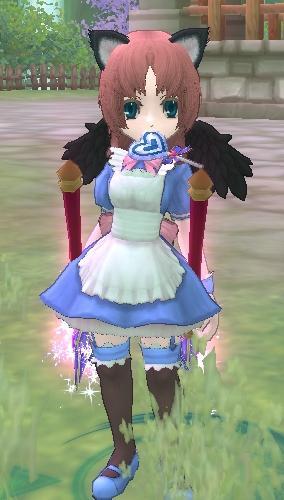 るなむんのメイド服の色変え