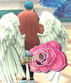 覚醒素材の薔薇ギター