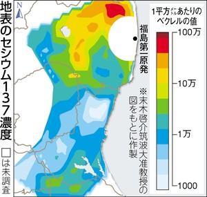 筑波大汚染地図