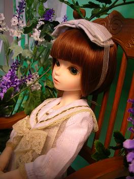 Mayちゃん、ショートウィッグとグリーンアイ 3