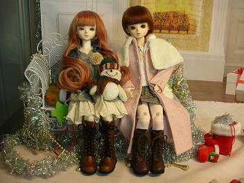エミリーさんとメイちゃん クリスマス 1