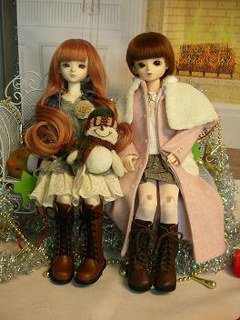 エミリーさんとメイちゃん クリスマス 2