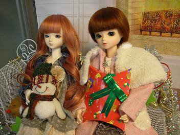 エミリーさんとメイちゃん クリスマス 3