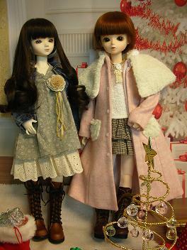 エミリーさんとメイちゃん クリスマス 6