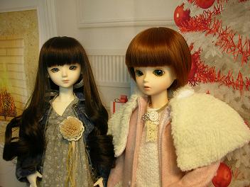 エミリーさんとメイちゃん クリスマス 7