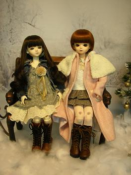 エミリーさんとメイちゃん クリスマス 9