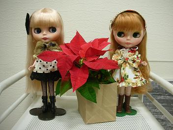 美容院 クリスマス 2013 1