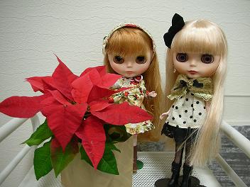 美容院 クリスマス 2013  3