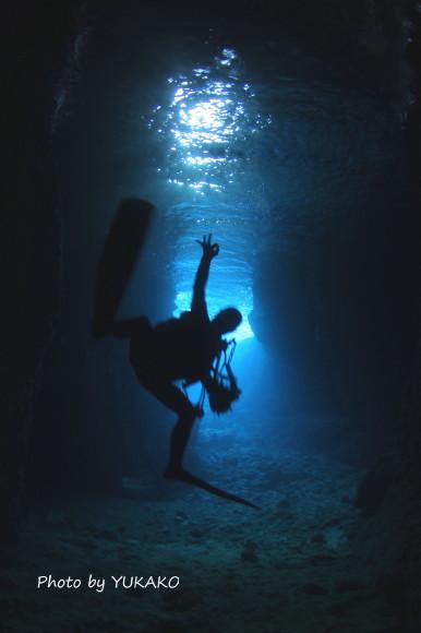 青の洞窟 OK