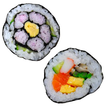 花 巻き寿司