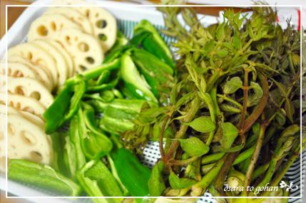 山菜と野菜