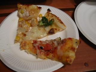 いろんなピザ