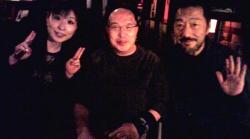 2012.3.24ボサセッションatアワビ庵 黒石さん_池田さんと2