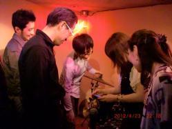 2012.4.23MIYAKOさんサムロマat CANDY41