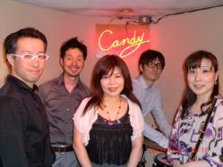 2012.4.23MIYAKOさんサムロマat CANDY40