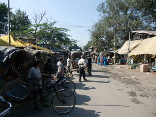 インドのイミグレへ