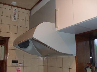 s-キッチン換気扇完成