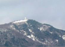 灰が峰初冠雪2