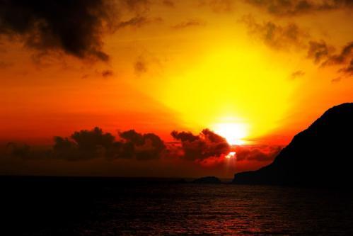 6月の夕陽 2