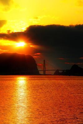 6月の夕陽 3