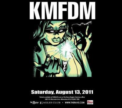 KMFDM rave 2011
