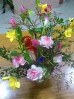 頂戴したお花