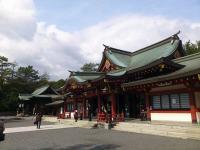福山八幡宮拝殿