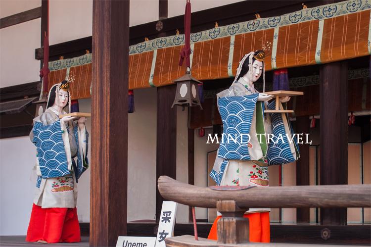 京都御所 采女