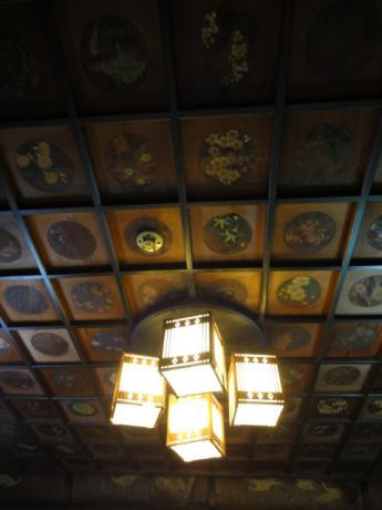 飾り天井!