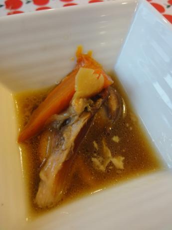 特製鶏スープ!
