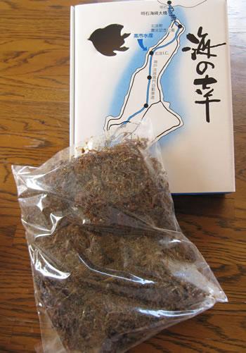 淡路島産の旬の味覚『お取り寄せでどうぞ』
