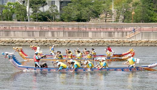 ASHIYA CUP ドラゴンボートレース2013-2