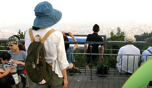 夏の六甲山は天国です-2