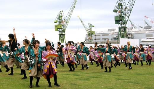 神戸よさこい祭2013(2)-1