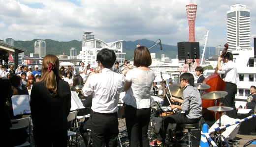 SWING JAZZ CRUISE in 神戸2013-2