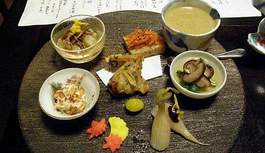 京都の秋2013・そば茶寮 澤正(2)-2