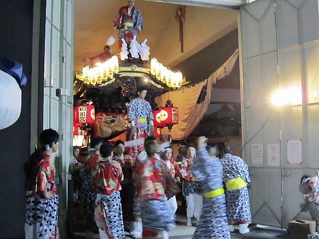 5月3日は和田宮神社のだんじりに行きました。ヽ(^o^)丿
