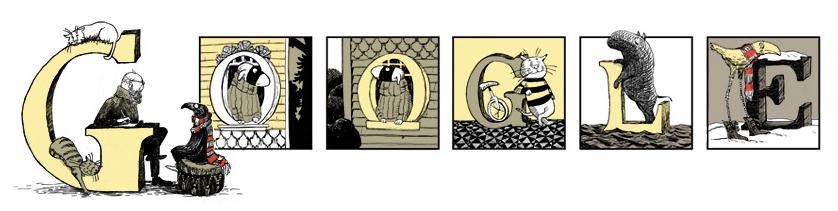 グーグルのタイトル エドワード・ゴーリー