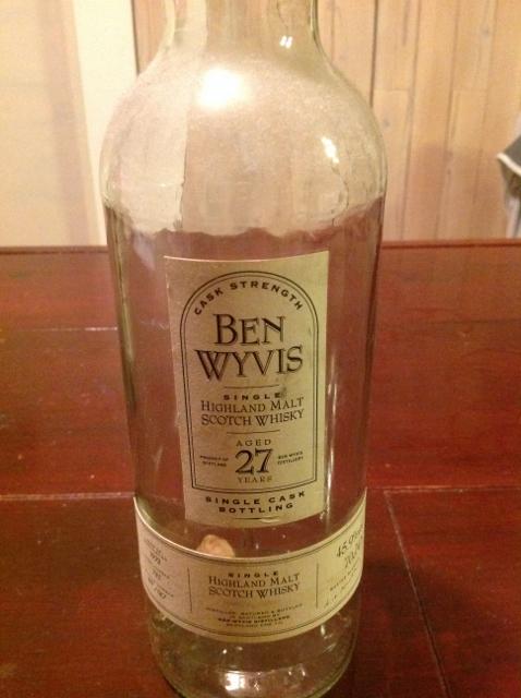 BEN WYVIS 27年 45.9%vol