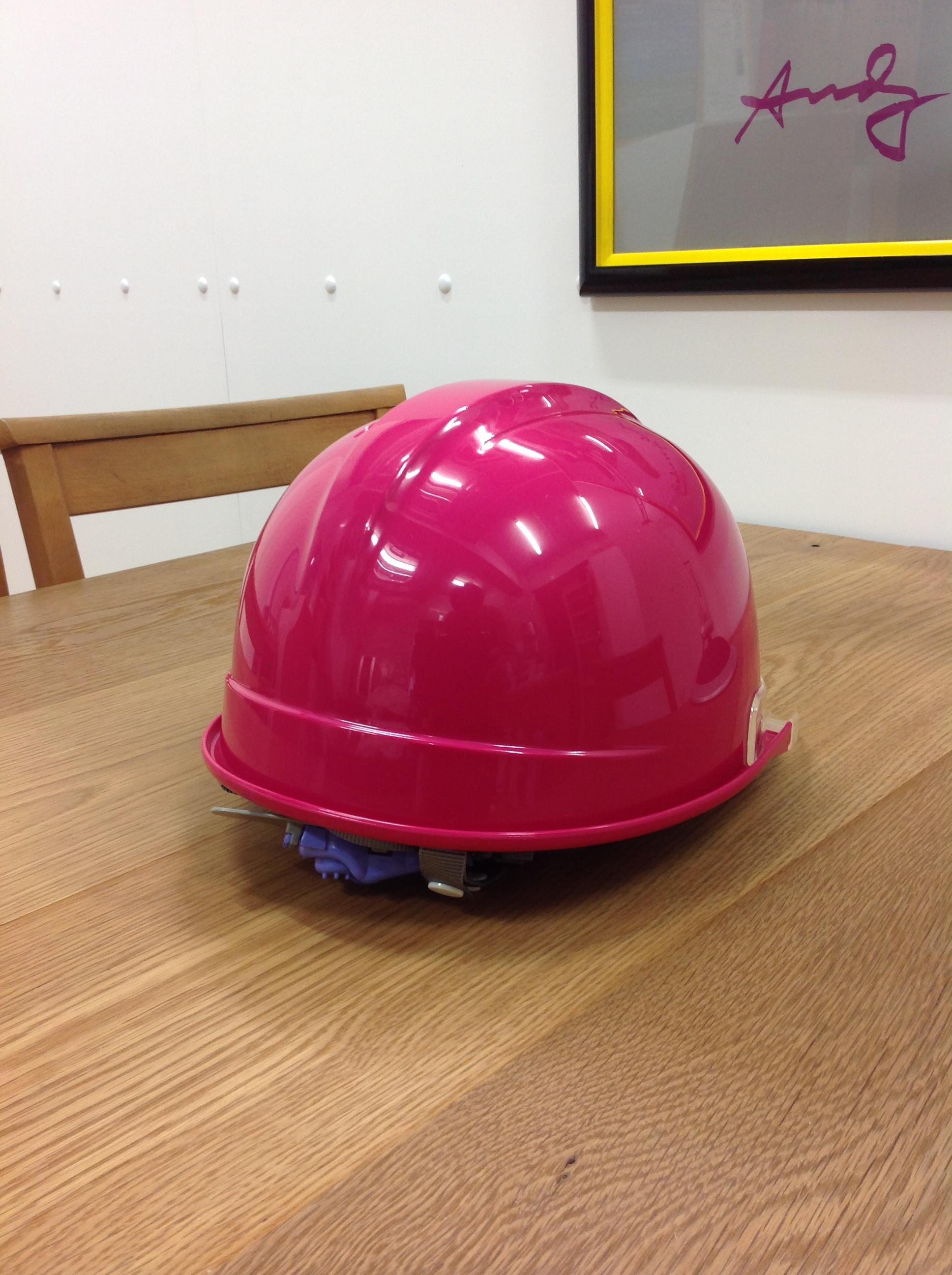 ヘルメット 現場見学