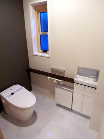 koge邸1階トイレ