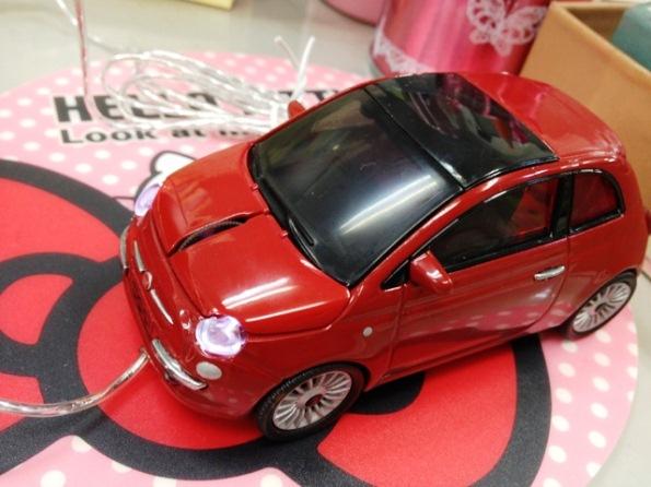 FIAT500マウス①