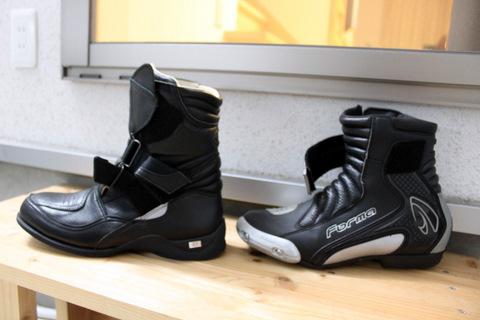 ブーツ比較写真2010