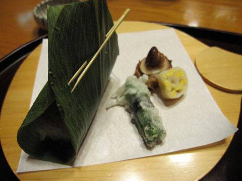 一の膳 穴子押寿司