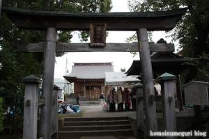 大松氷川神社(練馬区北町)11