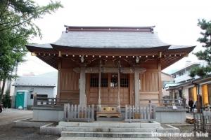 大松氷川神社(練馬区北町)16