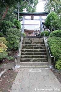 大松氷川神社(練馬区北町)2