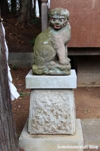 堀口天満天神社(所沢市上山口)16