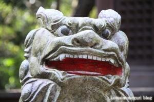 鳩峰八幡神社(所沢市久米)36