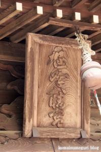 鳩峰八幡神社(所沢市久米)12
